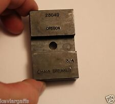 3/4 inch saw chain Pro Oregon Chainsaw chain Anvil for 3/4 inch chain breakers