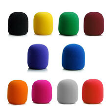 10pcs Microphone Foam Professional Studio Windscreen Mic Sponge Cover Shield Cap