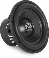 """NVX VCW122 1000W RMS 12"""" Dual 2 ohm VC Series Car Subwoofer Car Audio Sub"""