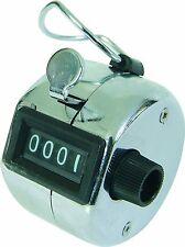 Chrome mano Tally contatore 4 cifre 0-9999. BIRD o Shot Contatore, porte personale