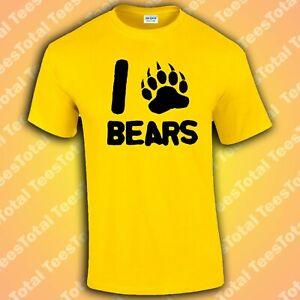 I Love Bears T-Shirt (Gay/Funny)
