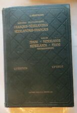 Nouveau dictionnaire Français-Néerlandais -  de L. Grootaers  -