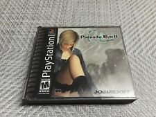 Parasite Eve II playstation one  complete game with the registration card