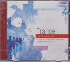 FRANCE INTERNATIONALE EXPERIENCE - EDITH PIAF & VARIOUS ARTISTS on 2 CD's