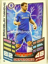 Match Attax 2012/13 Premier League - #041 Branislav Ivanovic - Chelsea