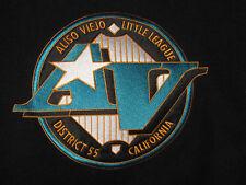 ☆ ALISO VIEJO Wool Leather Jacket Coat XL Orange County Baseball AV Letterman