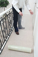 Carpet & Stair Floor Protection Protector Film - pick your size & thickness RW