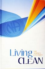 LIVING CLEAN The Journey Continues (Hardcover) Narcotics Anonymous   Brand New