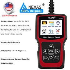 NEXAS NS202 OBD/EOBD Diagnostic Scanner Tool Code Reader Battery BMS Life Reset