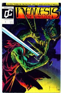  •.•  NEMESIS THE WARLOCK (VOL.2) • Issue #1 • Quality Comics