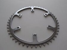 "*Rare NOS Vintage 1950s Williams 48T 3/32"" inner steel 6 hole chainring*"