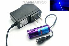 Focusable 445nm 450nm 50mW Blue Laser Diode Module w/ 5V Power Dot Lazer 20x58mm