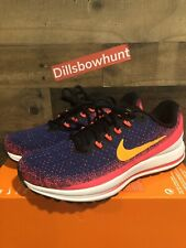 Nike Air Zoom Vomero 13 Men's Shoes Blue Void/orange Peel 922908 483