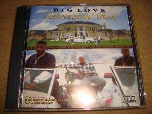 BIG LOVE - Representin Real  (NEU!)  D OF TRINITY GARDEN CARTEL LIL' VESTA LIL C