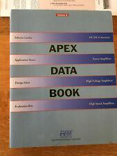 Apex Data Book DC Converters Power HV Amplifiers Design Catalog Manual 1994