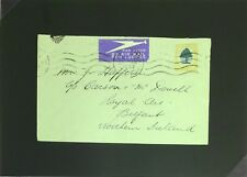 South Africa 1937 Airmail Ship Cover to Northern Ireland - Z2786