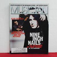 Trent Reznor Musician Magazine Nine Inch Nails Elvis Costello March 1994 RARE!!