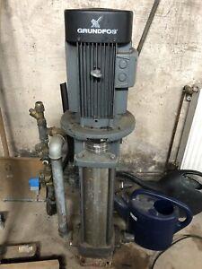 Grundfos Hochdruckpumpe CR 8 5,5 KW Gebraucht voll Funktiosfähig NP 5.780,00€