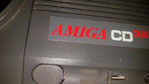 COMMODORE AMIGA CD32 CD 32 & 1 GAME #S162B115 RECAPPED RECAP