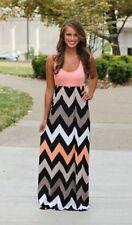 US Plus Size S-5XL Boho Womens Maxi Dress Sleeveless Summer Long Beach Sundress
