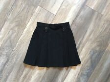 Very Pretty Smart Girls Black Pleated School Skirt By Marks & Spencer's Age 3-4