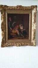 "ECOLE FLAMANDE HST 18e   ""ANNA DE FREY 1769"" - VUE 25 x 30 -"