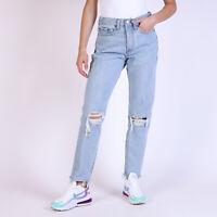 Levi's Wedgie hellblau Damen Jeans DE 34 / US W27
