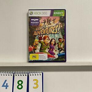 Kinect Adventures XBOX 360 Game + Manual Pal oz483