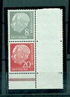 Bund, Heuss I,  Nr. S 49 y II, postfrisch **