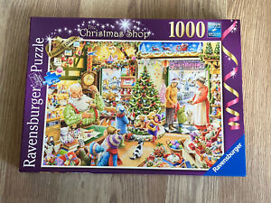 Ravensburger 1000 piece Jigsaw Puzzle 'The Christmas Shop' Limited Edition