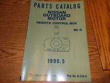 Nissan M-258-A Parts Catalog Remote Control Box Rc4