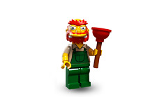 LEGO Simpsons Series II - GROUNDSKEEPER WILLIE - NEW & FACTORY SEALED - BNISP
