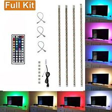USB Powered RGB Colour Change 5050 LED Strip Computer TV USB Backlight Light Kit