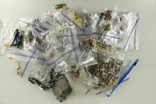 VINTAGE Dealer Variety LOT Costume Jewelry Necklaces Earrings Pins Beads & More