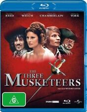 *New & Sealed* The Three Musketeers (Blu-ray, 2011) Oliver Reed, Reg. B AUS Rare