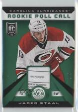 2013 Totally Certified Roll Call Green Tag /5 Jared Staal #RR-JAS Rookie Patch