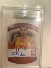 #26/100 Kyrie Irving 2013-14 Elite Auto Turn Of The Century Autograph (GRADED 9)