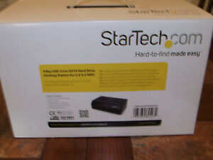 Startech 4 BAY USB 3.0 to SATA Hard Drive Docking Station for 2.5 / 3.5 HDD