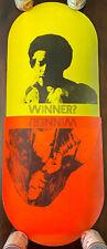 RARE! Original 1970 Jimi Hendrix Janis Joplin Winner? Pill Poster Smithsonian