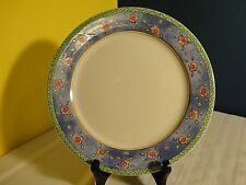 """Water Colors by SANGO - One Blueberry Sky Dinner Plate # 3000 - 10 3/4"""""""