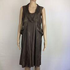 Arthur Galan Brown Cocktail Dress Size 10 (BD12)