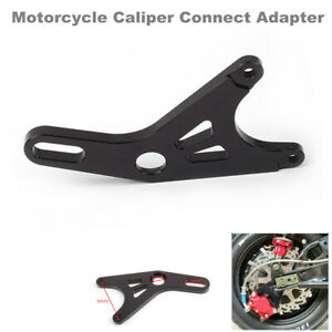 Motorcycle Bikes Cylinder Hydraulic Brake Caliper Rear Flat Fork Connect Adapter