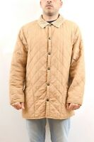Barbour Men's eskdale jacket quilted coat Tan Beige Classic UK size L 44/46 NICE