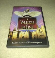 A Wrinkle In Time (DVD, KATIE STEWART, GREGORY SMITH, DAVID DORMAN *RARE oop