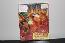 Doom Companion Edition 1994 PC Game  - NEW Sealed Big Box