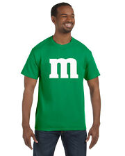 M & M Mens Tee Shirt Cheap and Easy Halloween Costume Funny Unique S-5XL