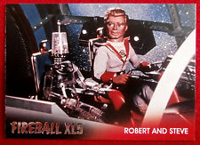 FIREBALL XL5 - Foil Chase Card F5 - ROBERT AND STEVE - GERRY ANDERSON COLLECTION