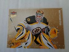 Tim Thomas 2008-09 Fleer Ultra #9 Gold Medallion Hockey Card NM Condition Bruins