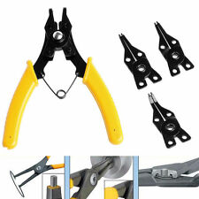 4 in 1 Snap Ring Pliers Combination Retaining Clip Circlip Plier Remover Set A