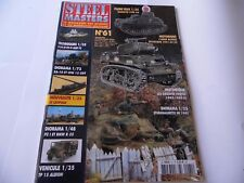 STEEL MASTERS ISSUE 61  - MILITARY HISTORY WARGAMING MAGAZINE